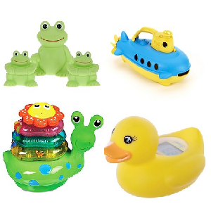 Baby Bathtub Toys and Thermometers
