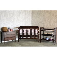 Shop Matching Crib and Changing Table Combo with Adjustable and ...