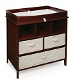 Badger Basket Company Estate Baby Changing Table - Cherry