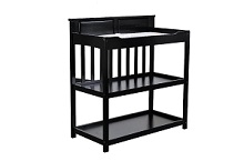 Dream On Me Zoey 3 In 1 Convertible Changing Table, Black
