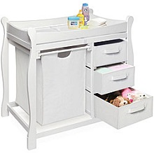 Shop White Changing Tables And Baby Changing Table Dresser